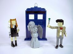 Doctor Who Legos!