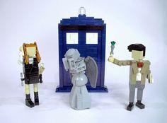 Doctor Who Legos!