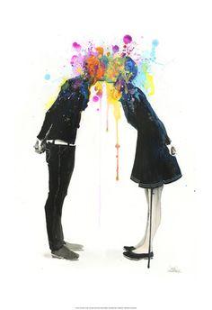 Zombie Lora - Zombie Lora -Big Bang Kiss  -13''x19''