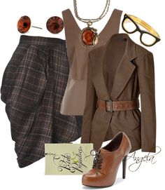 """""""Chic Librarian"""" by angela-l-s on Polyvore"""