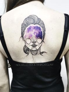 I Started Doing Linear Tattoos To Escape The Hard Times And I Can't Stop! | Nouvelle Rita