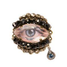 Dream Weaver Pin | Miriam Haskell Miriam Haskell, Eye Jewelry