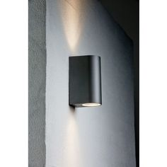 VÄGGLAMPA NORDLUX CANTO MAXI SVART IP44 - Vägglampa utomhus - Utomhusbelysning - Belysning