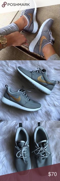 Women's Nike Roshe Run Worn a few times, still in great condition. Nike Shoes Athletic Shoes