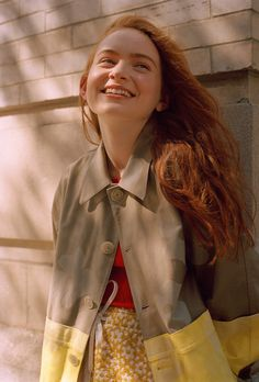 """For Teen Vogue's Up Next series, Sadie Sink talks """"Stranger Things and why Max and Eleven's friendship was so important. Stranger Things Actors, Stranger Things Netflix, Chica Cool, Sadie Sink, Blue Bloods, Teen Vogue, Vogue Magazine, Millie Bobby Brown, Photo Instagram"""