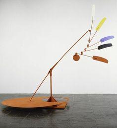 Alexander Calder / indian feathers, 1969