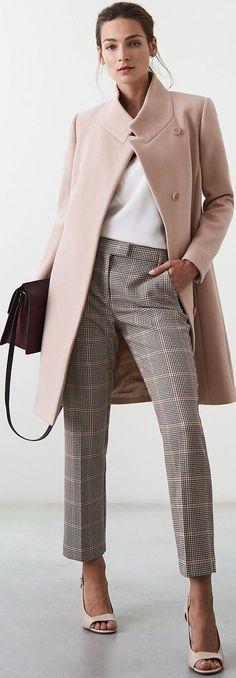 New Womens Fashion Classy Chic Work Attire Ideas Womens Fashion For Work, Work Fashion, Trendy Fashion, Winter Fashion, Fashion Trends, Classy Fashion, Office Fashion, Cheap Fashion, Fashion Fashion