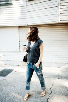 Fall Trend Crush: Embroidered Denim - Cheetah is the New Black Photoshoot Inspiration, Style Inspiration, Spring Fashion, Winter Fashion, Bump Style, Embellished Jeans, Fall Trends, Maternity Fashion, What To Wear