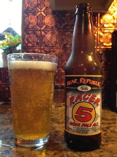 Racer 5 by Bear Republic Brewing Company; Healdsburg, CA