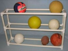 PVC Pipe Projects - Ball Rack