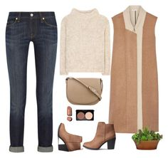 """""""Untitled #490"""" by jovana-p-com ❤ liked on Polyvore featuring 7 For All Mankind, Tom Ford, Tome, CÉLINE and Chanel"""