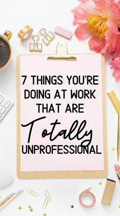 The career advice you have to hear! Here are 7 career tips to help you avoid being unprofessional at work. Life Advice, Career Advice, Job Career, Career Coach, How To Make Money, How To Become, Thing 1, Career Development, Professional Development