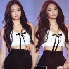 P You (Jennie/You) ft. Blackpink and Twice Jennie Kim. She's a 18 year old badass of 'Yongsan International School of Seoul', along with the other members o. Kim Jennie, Jennie Kwon, Girl Fashion, Fashion Outfits, Badass Style, Hot Actors, Lisa, Ulzzang Girl, South Korean Girls
