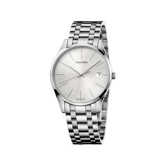 Discover CALVIN KLEIN women's watches, in distincy and modern styles. Choose from a selection of delicate watches for women ranging from gold, to rose gold and silver. Ck Calvin Klein, Calvin Klein Femmes, Calvin Klein Watch, Gents Watches, Rolex Watches, Watches For Men, Style Androgyne, Watch Sale, Stainless Steel Bracelet