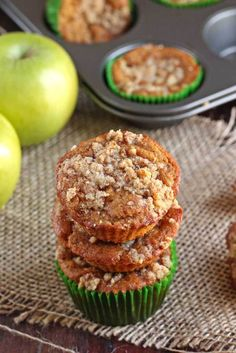 These Paleo Apple Streusel Muffins are gluten-free and grain-free, butter-free, dairy-free and refined sugar free. Fluffy and soft, these muffins are...