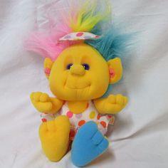 Vintage Hobnobbins Cousin Sunny Plush, 1989 #Playskool