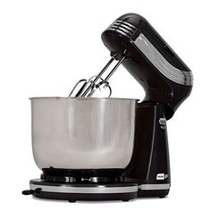 Dash Compact Stand Mixer DCSM250BK Stand Mixer NEW * Click image for more details.