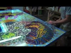 How to use acrylic paints for resin painting - YouTube