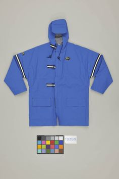 From the #Lacoste Archives... #sailing with #comfort with this #Lacoste #blue #parka