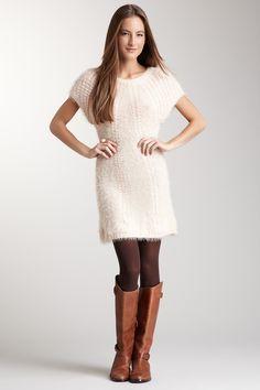 soft knit sweater dress