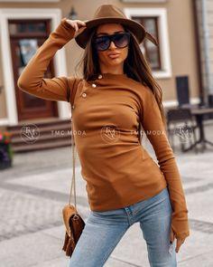 Štýlové dámske oblečenie na jeseň, krásna dámska blúzka vo farbe kamel Vogue, Chic, Style, Fashion, Camel, Shabby Chic, Swag, Moda, Elegant