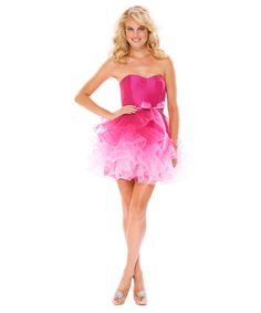 If I had a Valentine's Day date to attend I would wear this Betsey Johnson dress! Totally adorable!