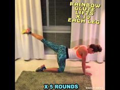 Beginner home workout for women by Emily Skye! - YouTube