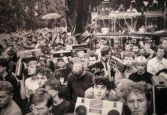 The Jarocin Festival, Warsaw, 1986. Photo courtesy of Krzysztof Miller/ Agencja Gazeta.