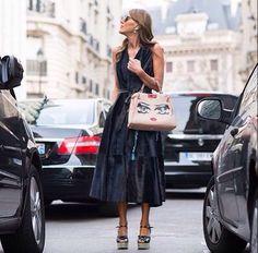 Anna wearing Fendi Peekaboo Bag
