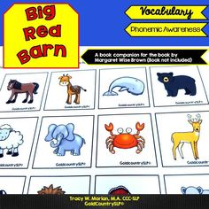 Language  & literacy companion activities for the book by Margaret Wise Brown.