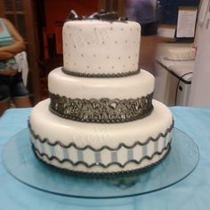 Black and White Cake, BW, Beatiful