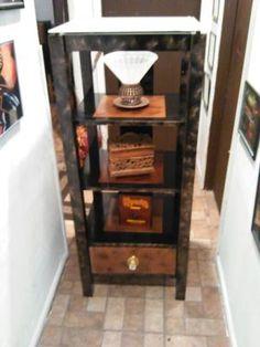 Copper & Black shelf