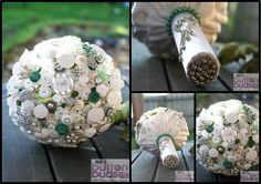 #love the #pops of #green against the #white in this #buttonbouquet!  #alternativebouquet #stunning #buttons #sparkles #alternative #wedding #bride #instaweddings #handmade #love #weddingparty #celebration  #bridesmaids #happiness #unforgettable #forever #ceremony #romance #marriage #weddingday #buttonbouquets #fashion #flowers #australia  www.nicsbuttonbuds.com.au www.facebook.com/nicsbuttonbuds www.pinterest.com/nicsbuttonbuds www.instagram.com/nicsbuttonbuds www.twitter.com/nicsbuttonbuds
