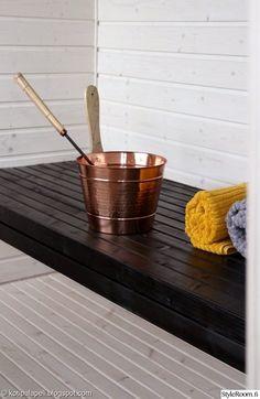 ennen/jälkeen,remontti,kuparikiulu,sauna,saunasuoja