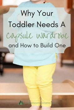Having a capsule wardrobe for my toddler has simplified my life so much!