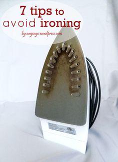 7 Tips To Avoid Ironing