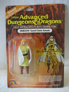A guide to toy collecting including how to figure out the kind of toys that you would like to collect and how to determine their condition. Dungeons And Dragons Figures, Advanced Dungeons And Dragons, Retro Toys, Vintage Toys, 1980s Toys, Pen And Paper Games, Childhood Toys, Childhood Memories, Cleric