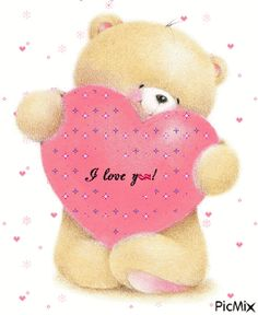 Hug Pictures, Teddy Bear Pictures, Cute Love Pictures, Cute Teddy Bear Pics, Teddy Bear Quotes, Cute Birthday Wishes, Happy Birthday Video, Love You Gif, Cute Love Gif