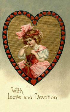 vintage valentine postcards | Vintage Valentine Postcard | Flickr - Photo Sharing!