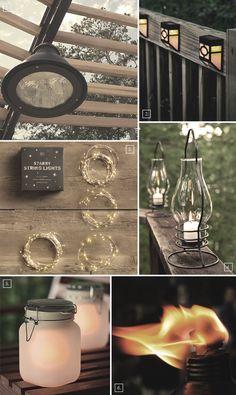 Simple Outdoor Pergola Lighting Ideas