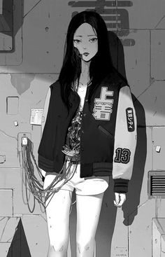 MTL Writer, daydreamer and resident cyberpunk. The brain that collates this visualgasm also assembles words into post-cyberpunk dystopia: my writing Check out my Ko-fi page! Cyberpunk Anime, Arte Cyberpunk, Cyberpunk 2020, Aesthetic Art, Aesthetic Anime, Fille Blonde Anime, Character Art, Character Design, Character Inspiration