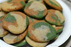 Rally the troops with an effortless take on sugar cookies. These camo cookies are perfect for military themed parties and events or even in a care package!
