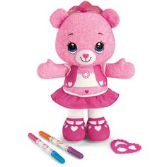 Fisher-Price Doodle Bear, Rose