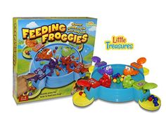 Feeding Frogs Game, Feed the Hungry Froggies before the Other Froggies Eat Up All The Balls Fun Kids 3D Board Game Little Treasures http://www.amazon.com/dp/B013KC0YI2/ref=cm_sw_r_pi_dp_A0cowb0Y48YQF