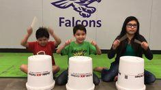 Cha Cha Slide Bucket Drumming Elementary