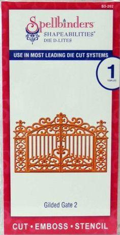 Spellbinders D-Lites Gilded Gate no.2 Shapeabilities Die Cutter