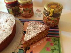 Whole honey pie. The taste of italian food.