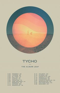 Really excited to announce that The Album Leaf will be joining us for the upcoming Tycho Fall Tour. Been a big fan for a long time so it will be an honor to share the stage with them. Full details ...