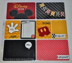 Tx Scrapper Mom - Project Life, Disney (Mickey Mouse), Dilo en ESpanol