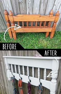 15 Smart DIY Ideas To Repurpose Your Old Furniture is part of Diy furniture hacks - Welcome to a new collection of DIY projects in which we're going to show you 15 Smart DIY Ideas To Repurpose Your Old Furniture Enjoy! Diy Furniture Hacks, Refurbished Furniture, Repurposed Furniture, Furniture Projects, Wood Projects, Furniture Online, Bedroom Furniture, Pallet Furniture, Painted Furniture